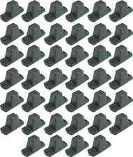 40 St. Adam Hall 4982 Plastikfüße 85 x 33 x 43 mm Möbelfüße Gerätefüße Boxenfüße