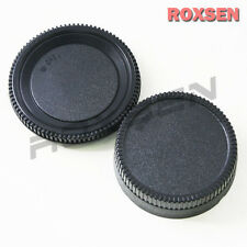 Nikon Body + Rear Lens Cap for F mount lens D200 D50 D70S D2X D3X D4 D7100 D7000