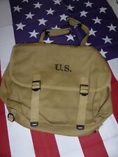 Musette américaine Mle 36 ( USA NORMANDIE JEEP Bag Mussette M-1936 )