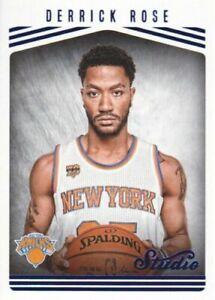 2016-17 Studio Basketball #139 Derrick Rose SE New York Knicks