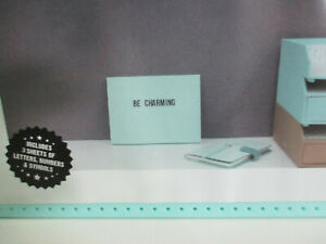 Home Decor Plastic Message Board With Letters Numbers Symbols Collection-A2