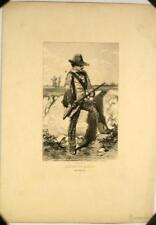 Lithographie de Paul Gavarni, Costume de chasse