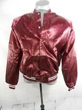 VTG Water Works Cafe West Islip NY New York Satin Varsity Letterman Jacket
