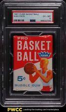 1961 Fleer Basketball Wax Pack PSA 6 EXMT
