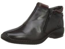Rieker Womens Black Zip Fastening Ankle Boots Size UK 6/EU 39