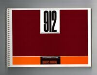 Porsche 912 Owners manual. a genuine Porsche reprint of the original manual