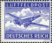 Dt. Feldpost 2.WK 1A (kompl.Ausg.) gezähnte Ausgabe postfrisch 1942 Luftfeldpost