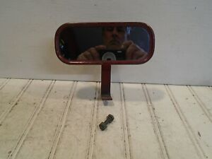 Vintage Rear View Mirror - Dash Mounted
