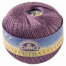 DMC Petra Crochet Thread - Colour 53837 - Purple Cotton - Size 3 - 100g