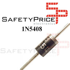 10x 1N5408 Diodes redresseurs 3A 1000V electronique Rectificateur Diode