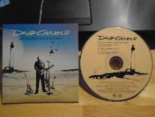 RARE PROMO David Gilmour CD On An Island LIVE SELECTIONS Pink Floyd Roxy Music !