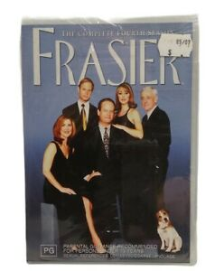 Frasier - Complete Fourth Season 4 New Sealed DVD Free Tracked Post