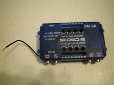 Scosche Fai-3A 4-Channel Adjustable Line Output Converter Speaker Level(Stereo)
