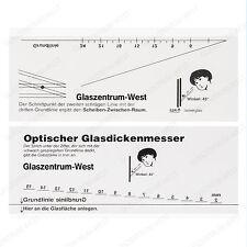 Isolierglas + SZR Glasdickenmesser Glasstärkenmesser Messkluppe Messwerkzeug