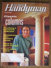 The Family Handyman February 1998 Classic Columns, Plumbing a Basement Bathroom