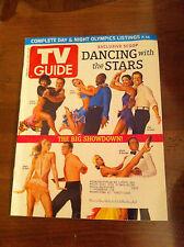 TV GUIDE Dancing With The Stars 2006 ELLEN POMPEO Battlestar Galactica 24 LOST