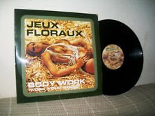 SEXY CHEESECAKE JEUX FLORAUX  BODY WORK 12'' VINYL RECORD