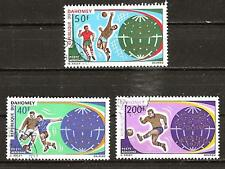 Dahomey # C121-3 Used World Soccer Cup Championship