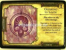 D & D fortune cards - 1x offering to Lolth #034