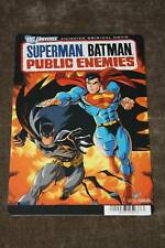 COLLECTIBLE SUPERMAN BATMAN PUBLIC ENEMIES MINI POSTER