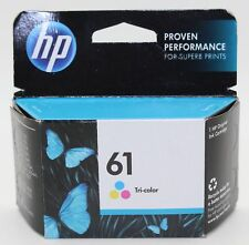 """Genuine HP 61 Tricolor Ink Cartridge EXP 02/2019 """" free shipping """""""