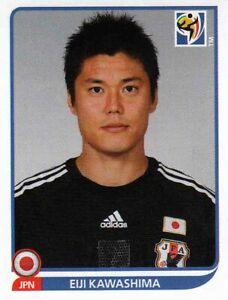 Panini Sticker Fußball WM 2010 Nr. 374 Eiji Kawashima Japan Bild NEU Worldcup