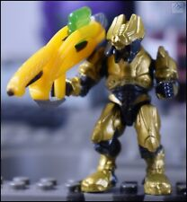 HALO MEGA BLOKS GOLD ELITE GENERAL W/ CANNON MINI FIGURE 97015 COVENANT SERAPH