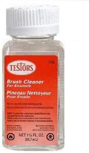 Testors #1156 Paint Thinner & Brush Cleaner, 1.75 oz Free Shipping