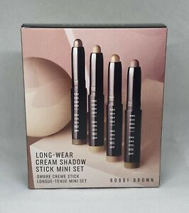 Bobbi Brown Long-Wear Cream Shadow Stick Mini 4ps Set