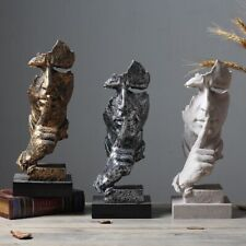 Abstract Sculpture Resin Figurine Modern Art Ornaments Office Home Decoration
