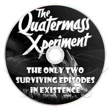 The Quatermass Experiment (1953) Sci-Fi, Horror, TV Series, Two Episodes on DVD