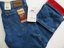 Mens Wrangler Rugged Wear Thermal Jeans - 3M Thinsulate Lining - 33213SW