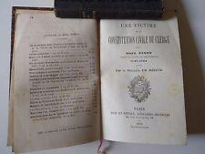 NOEL PINOT.UNE VICTIME DE LA CONSTITUTION CIVILE DU CLERGÉ 1881.E.O.