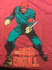 The Red Skull T-Shirt L Marvel red new Large
