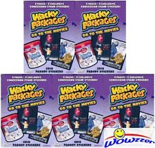 (5)2018 Topps Wacky Packages Go to the Movies EXCLUSIVE Factory Sealed Value Box