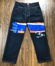 Marithe Francois Girbaud Mens Straight Leg Jeans Denim Pants Size 42 X 35
