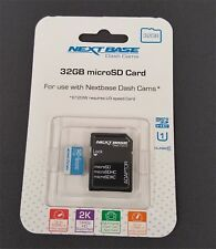 NEXTBASE class 10 micro SD card - 32G , for USE with all NEXTBASE dash cams