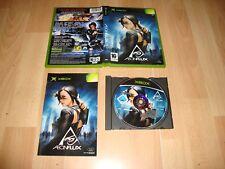 AEONFLUX AEON FLUX DE TERMINAL REALITY PARA LA PRIMERA XBOX USADO COMPLETO