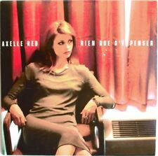 "AXELLE RED - CD SINGLE PROMO ""RIEN QUE D'Y PENSER"""