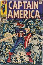 Captain America #107 Marvel Comics 1968, Red Skull