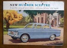 Humber Sceptre Mk 2 Original UK Sales Brochure Pub. No. 1190/H circa 1966