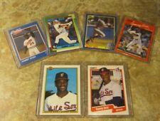 SAMMY SOSA 1990 Card 6-Lot Rookie rc Lot & Tulsa Drillers Minor League ex/nm