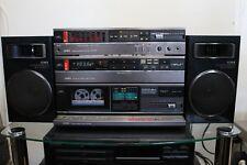 Anlage AIWA MX-90 Amplifier Equalizer FX-50 Cassette TX-110 Tuner SX-R200 Boxen