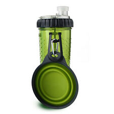 Dexas Popware Snack-duo Green 360ml and 12oz With Travel Cup