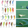 5PCS Minnow Lifelike Artificial Hard Bait Fishing Lures Fish Tackle Accessory