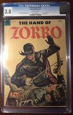 Four 4 Color (Dell, 1954) #574 Zorro CGC 3.0