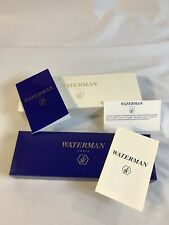Waterman Paris Laureat Green Marble Set Fountain Pen And Roller