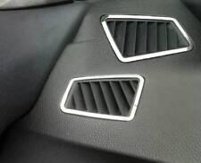 D BMW e90 e91 CROMO QUADRO PER BOCCHETTE ARIA ACCIAIO INOX LUCIDATO 2 pezzi