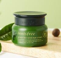 Innisfree GreenTea Seed Eye Cream 30ml Moisturizing Nourishing Skincare Korea