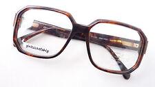 Oldschool Brille braun Männer Gestell groß kastig Flexbügel Marke OWP size L